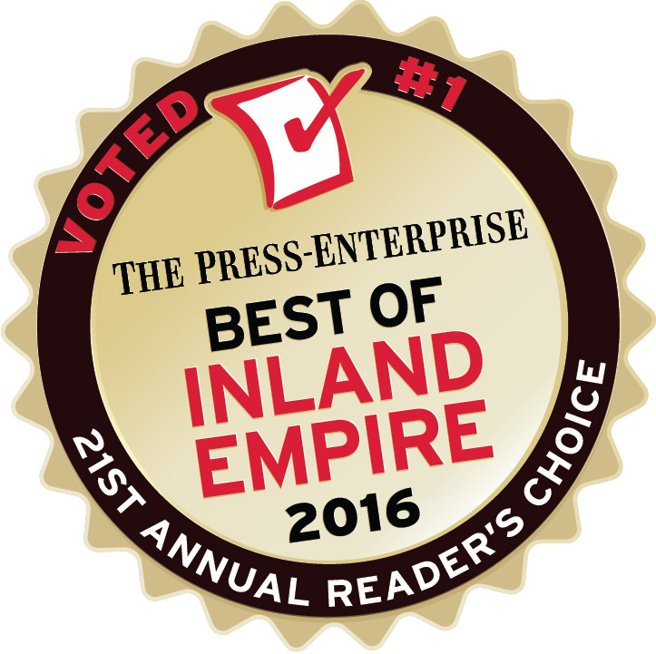 Best of Inland Empire Readers Choice 2016 Badge