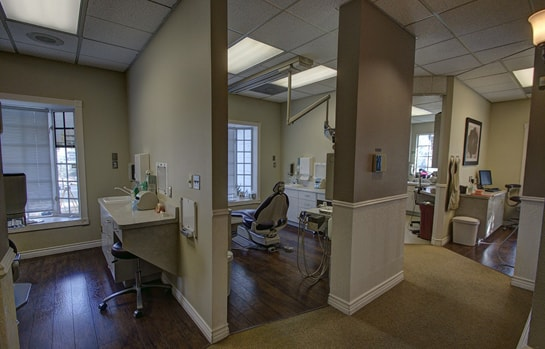 The dental bays inside our San Jacinto, CA dental practice.